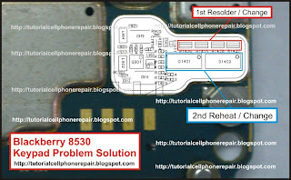 Blackberry 8530 Keypad Problem Solution