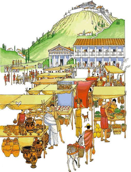 Historia primeros a os la polis griega Como eran las casas griegas