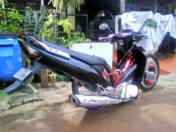 Top modifikasi mio nungging