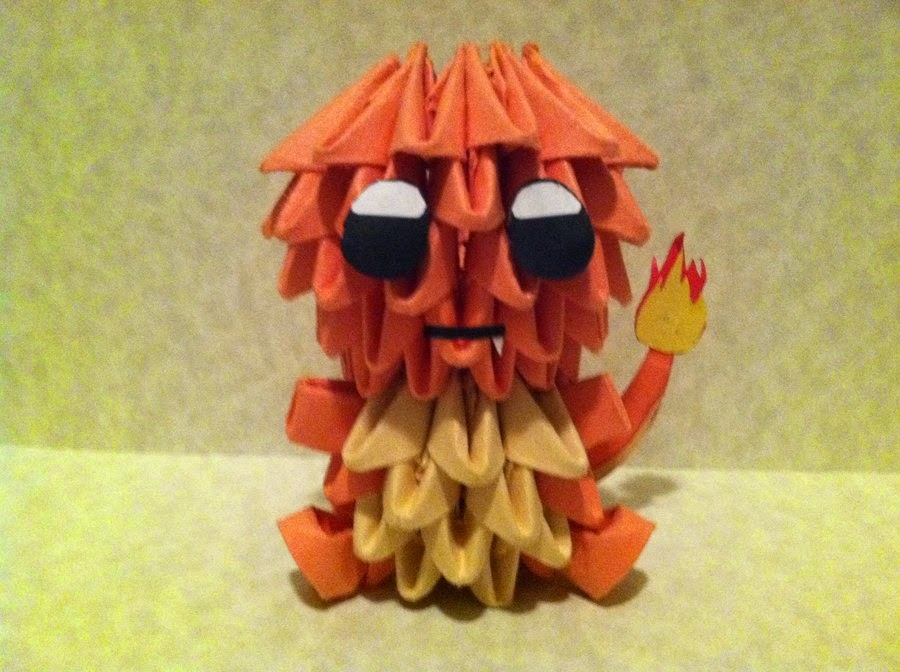 Paper Crafts Origami For Kids Charmander