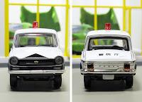 Tomica Limited Vintage   Mazda Carol 360 police patrol car