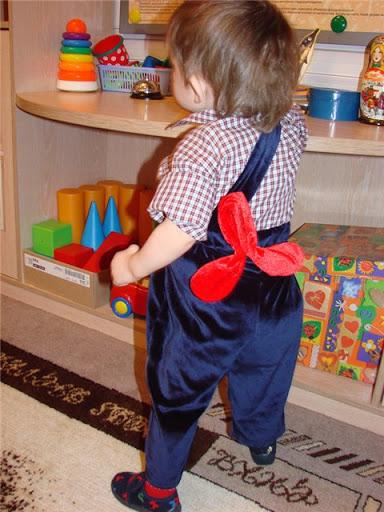 Детский костюм карлсон своими руками