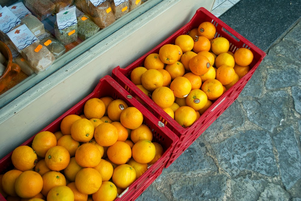 oranges in soller