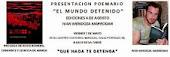 """PRESENTACIÓN """"EL MUNDO DETENIDO"""""""