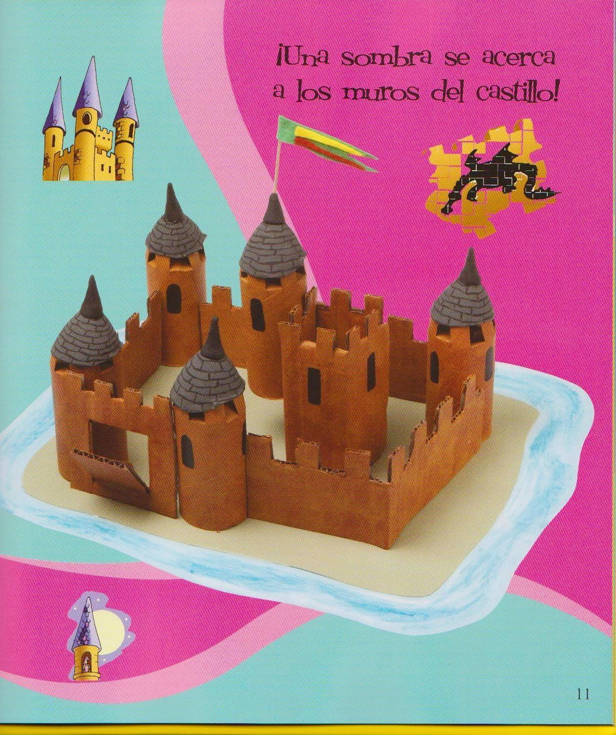 Kamy mateo hacemos un castillo medieval - Manualidades castillo medieval ...