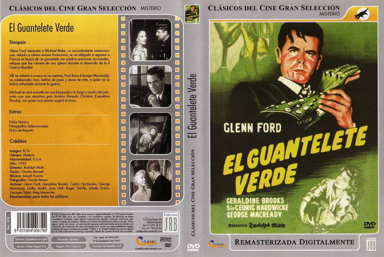 El guantelete verde (1942 - The Green Glove)