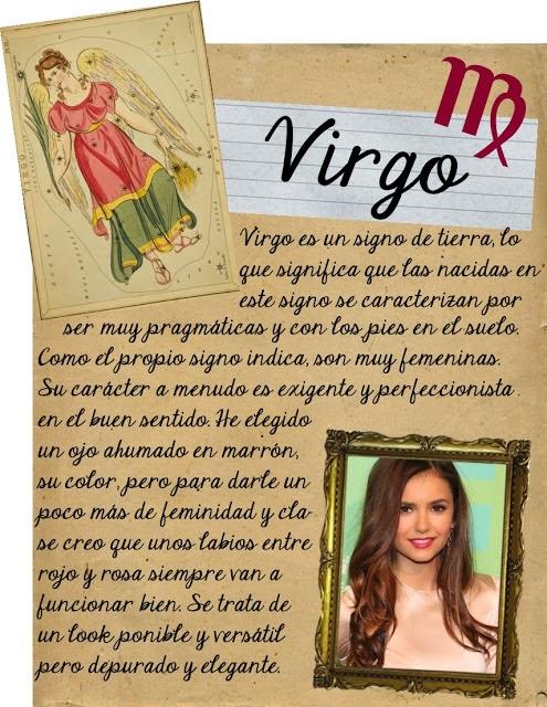 Maquillarse segun tu signo zodiacal, Virgo