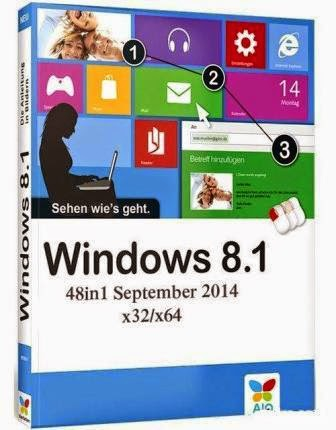 Microsoft Windows 8.1 AIO 48in1 with Update x64 en-US Sep2014