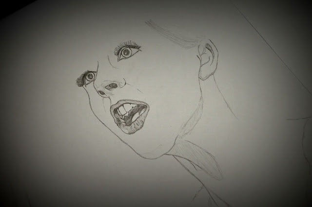 Drawing a magician girl - 1
