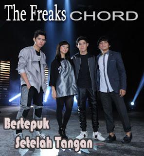 Chord/Kunci Gitar dan Lirik Lagu The Freaks (Aliando Syarief, Nikita Willy, Calvin Jeremy,Teuku Rasya) - Bertepuk Sebelah Tangan