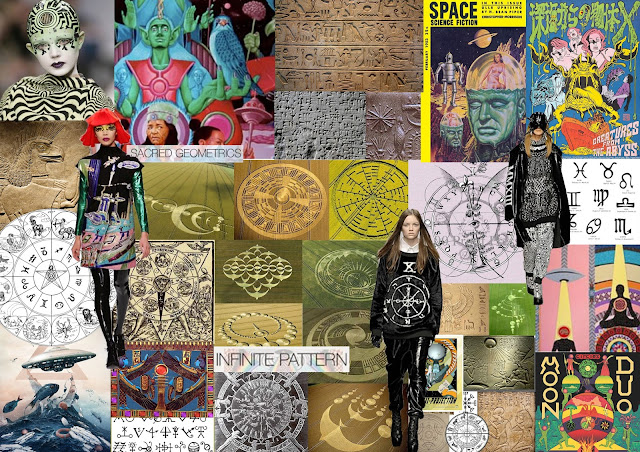 crop circles, manish arora, fashion make up, catwalk make up, ufo, fashion trend, egyptian, zodiac, hieroglyphics, eye