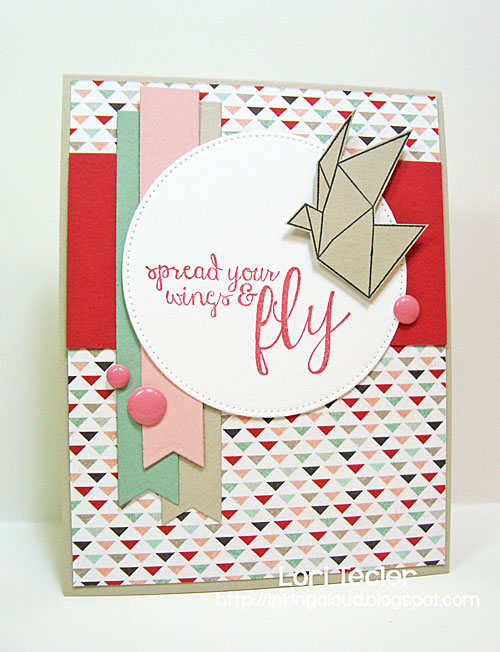 Spread Your Wings and Fly card-designed by Lori Tecler/Inking Aloud-stamps from Reverse Confetti