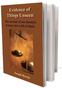 Libro: EVIDENCIA DE COSAS OCULTAS, Autobiografía de Joseph Herrin