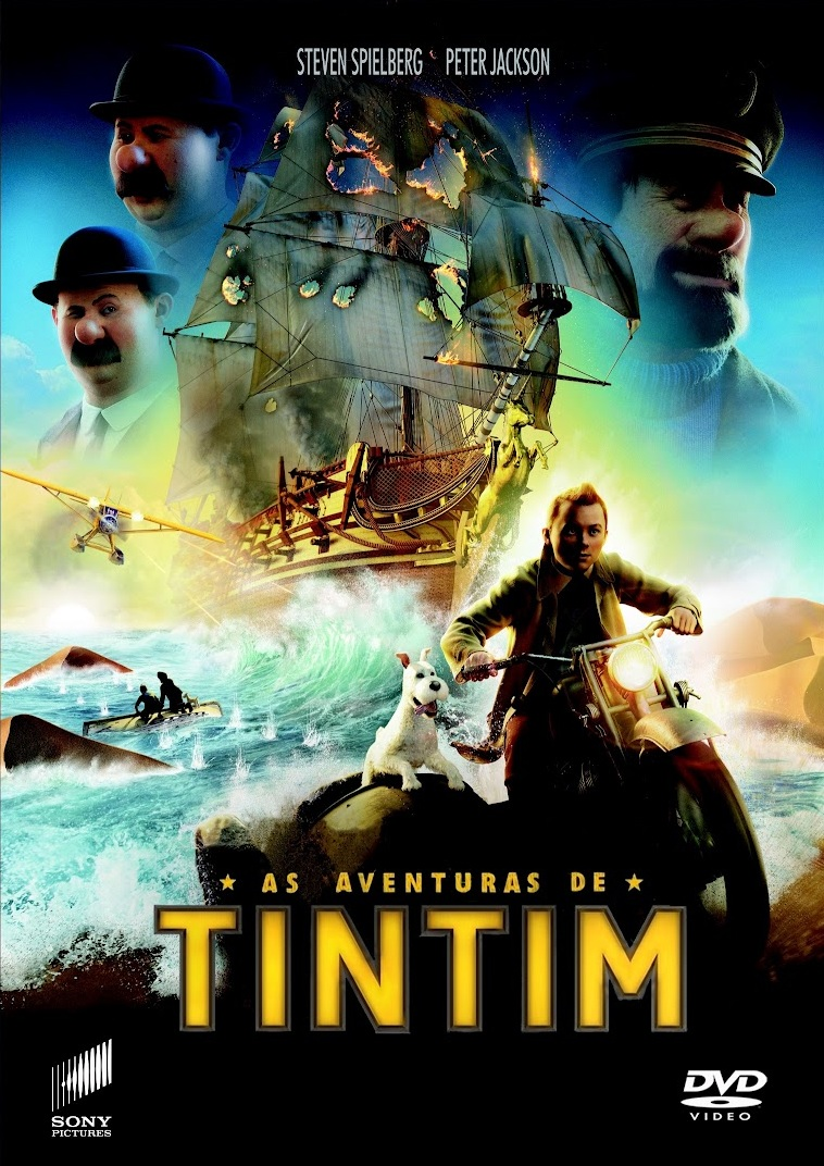 As Aventuras de Tintim – Legendado (2011)