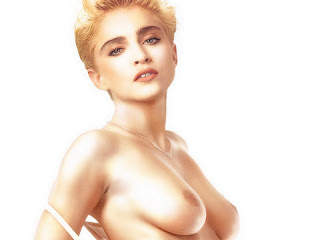 Madonna topless in Like a Virgin cover photosession UHQ