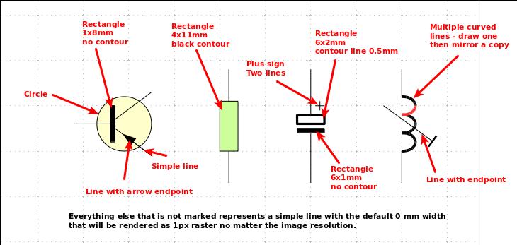 Draw Electronic Schematics Using Libreoffice  U00b7 One Transistor