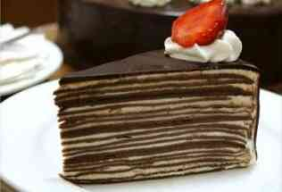 Resep Mille Crepes Cake Coklat