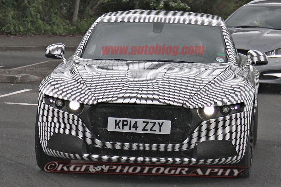 Lagonda 2015 Spy Photos