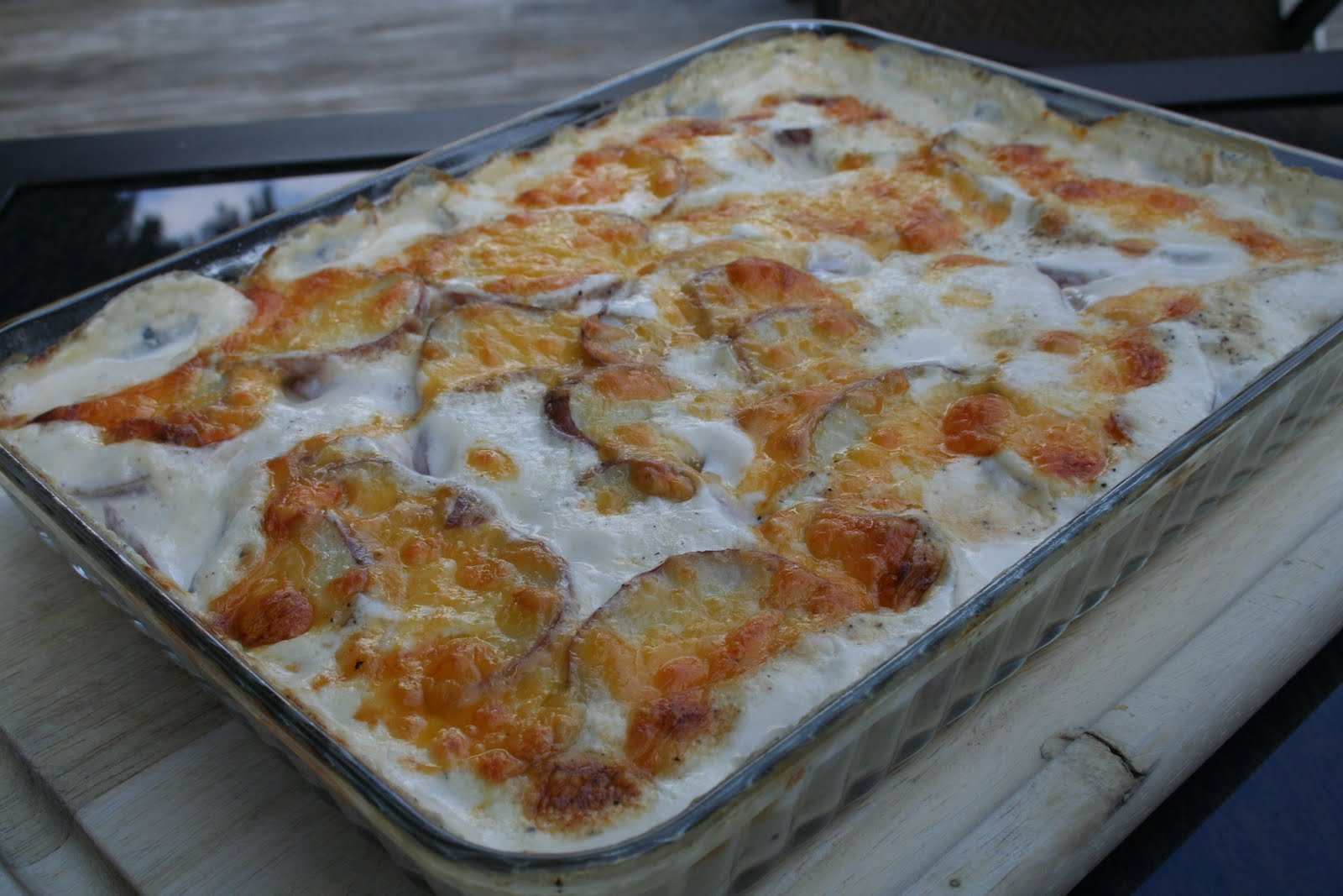 COOK WITH SUSAN: Easy Cheezy Scalloped Potatoes