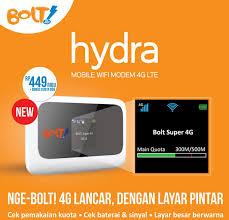 Review Modem Bolt Hydra ZTE MF910