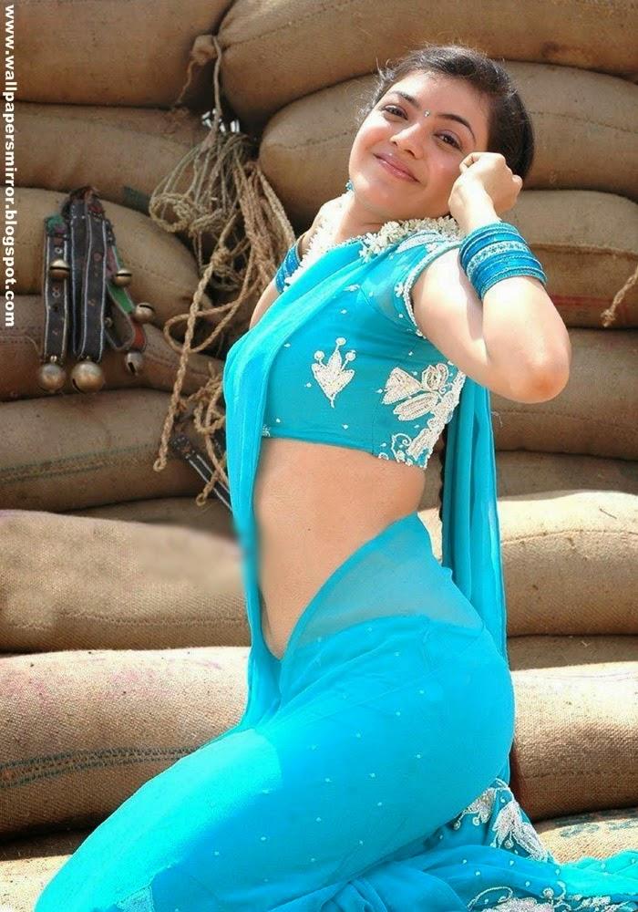 Kajal agarwal hot saree pics