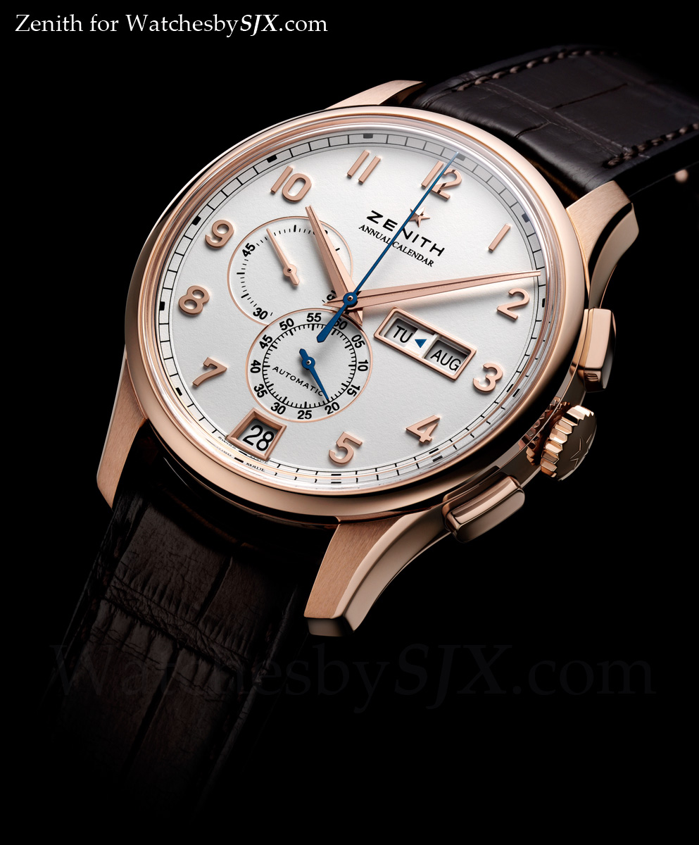 watches by sjx news zenith captain winsor annual calendar boutique edition