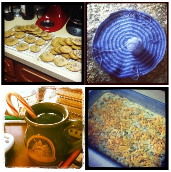 Baking, Crochet, Coffee, and Cookies