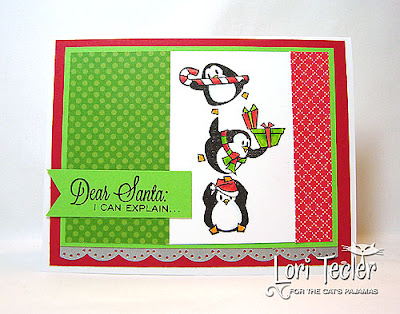 Dear Santa-designed by Lori Tecler-Inking Aloud-stamps from The Cat's Pajamas