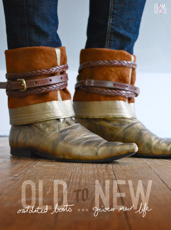 DIY gold boot update