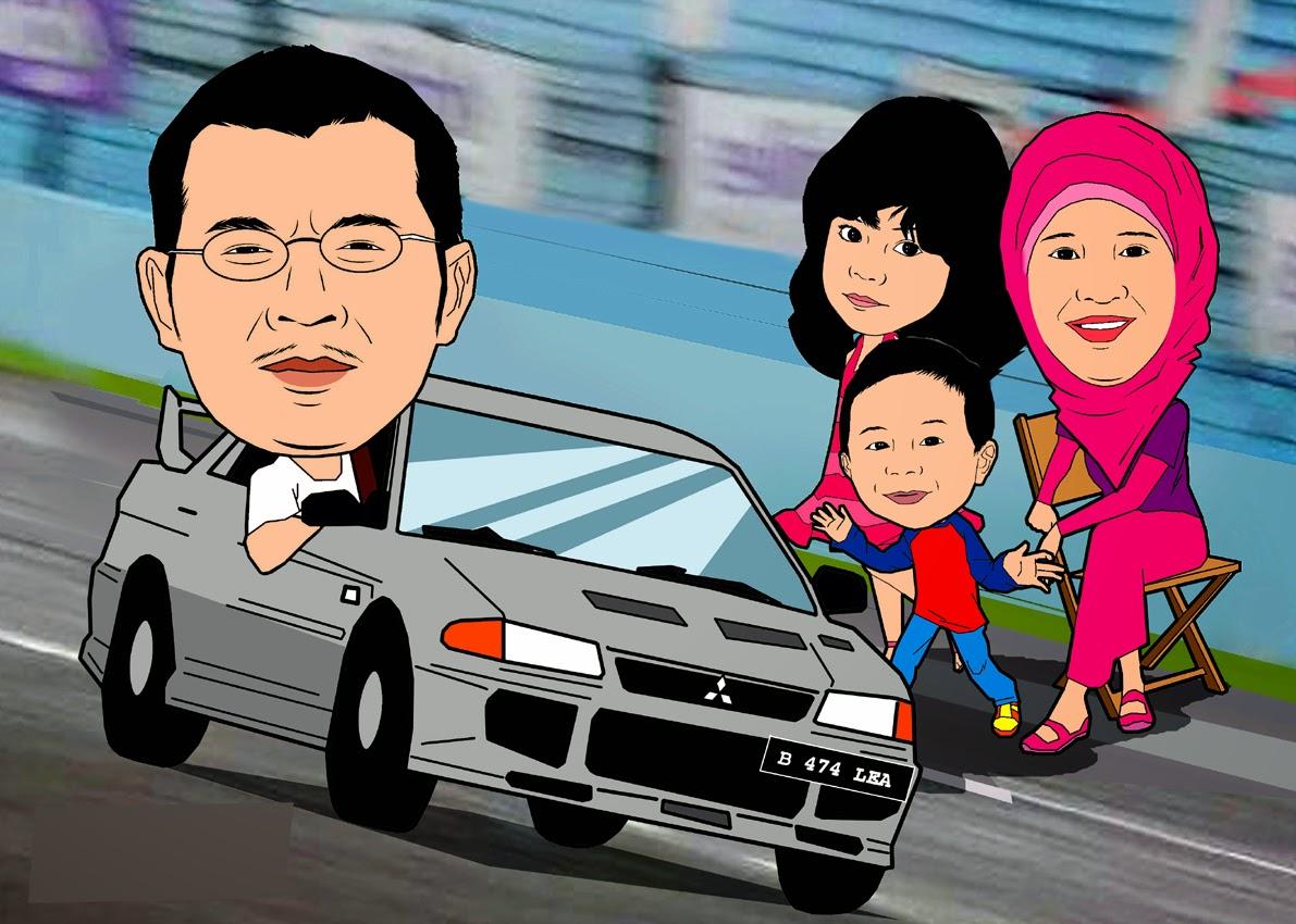 Kumpulan Gambar Karikatur Orang Naik Mobil Puzzze