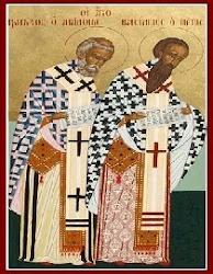 Sto. Basilius dan Gregorius