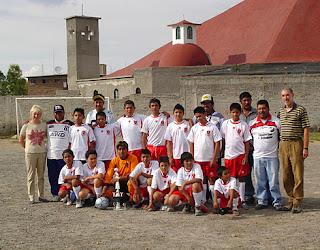 Entwicklungshilfe Fussball in Mexiko