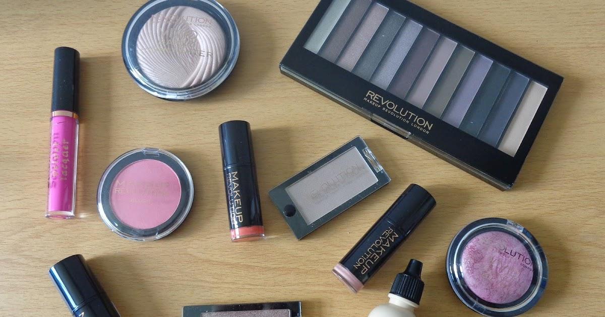 Kizzy Hearts: Makeup Revolution Haul