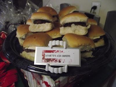 True Blood Party Lafayette's Aids Burgers @ Northman's Party Vamps