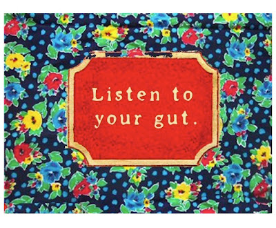 inspiration word of the day listen to your gut