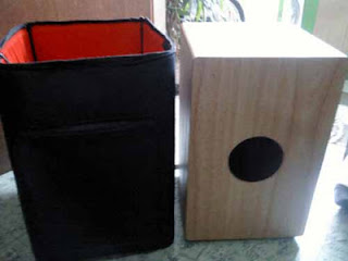 drum akustik softcase