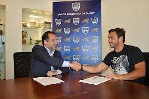Martín Landajo: el primer contrato de cara al Súper Rugby, la RWC y el Personal Rugby Championship.