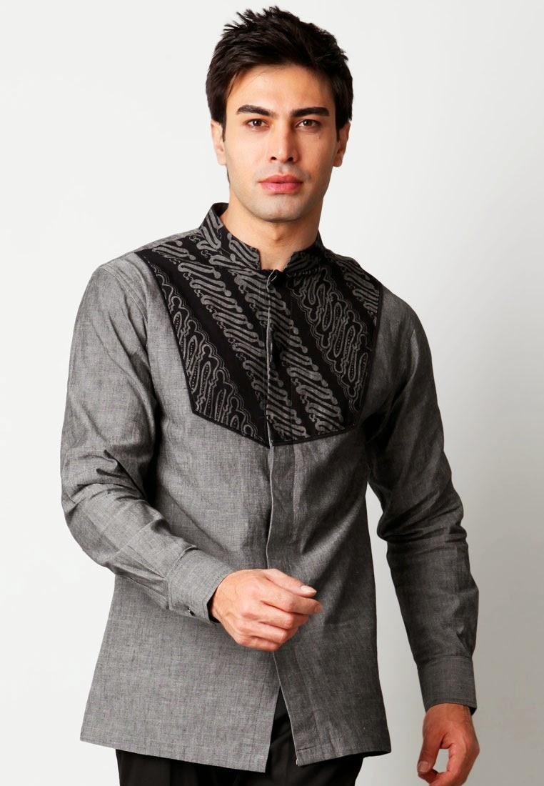 Desain baju koko modern nan elegan dengan motif batik
