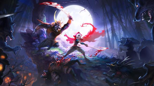 Akaneiro Demon Hunters Game HD Wallpaper