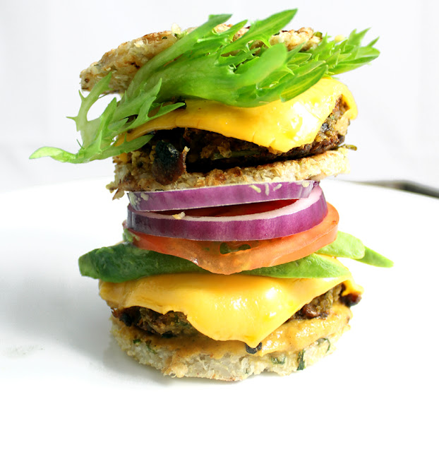 Oppskrift Veganburger Vegetarbruger Hjemmelaget Burger Mungbønner Bønneburger
