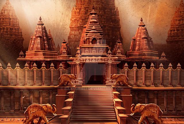 Amazing Set Designs | Baahubali | Rajamouli