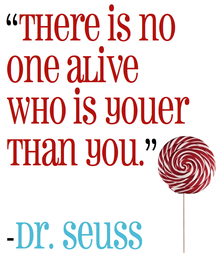 Marvelous Dr. Seuss   Inspirational Quotes