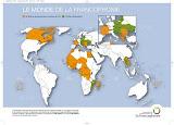 Ο χάρτης της Γαλλοφωνίας