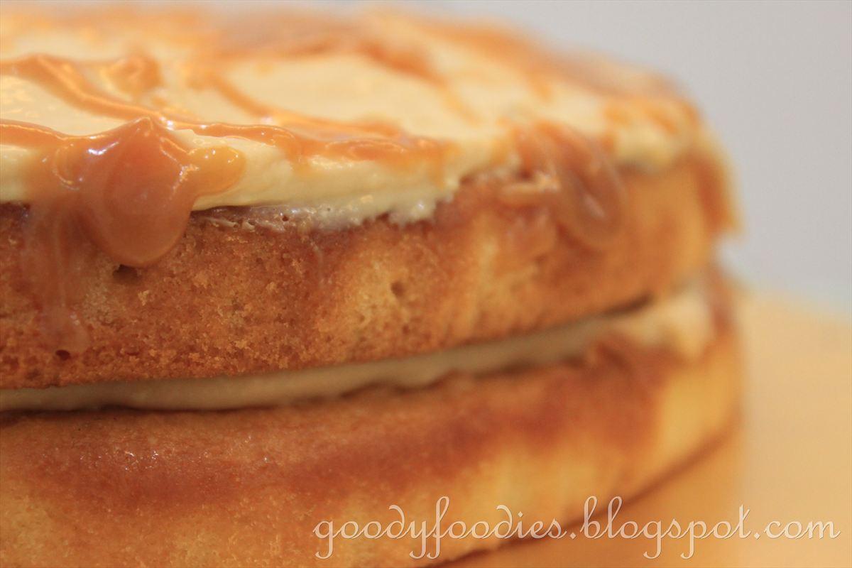 Nigella Butterscotch Layer Cake