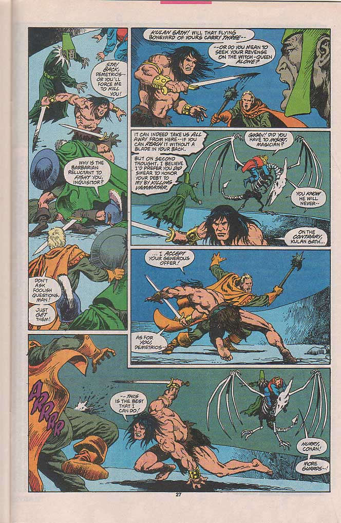 Conan the Barbarian (1970) Issue #257 #269 - English 22