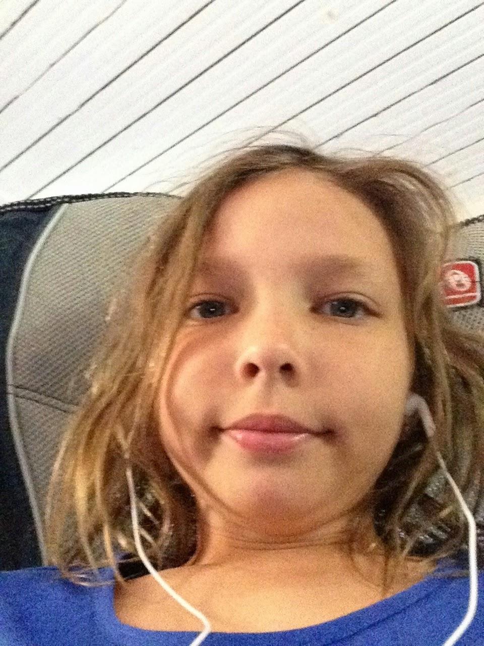 11 Year Old Girl Selfie
