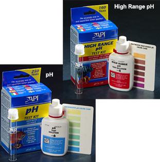 Fish n tips aquarium water ph levels for Fish tank test kit
