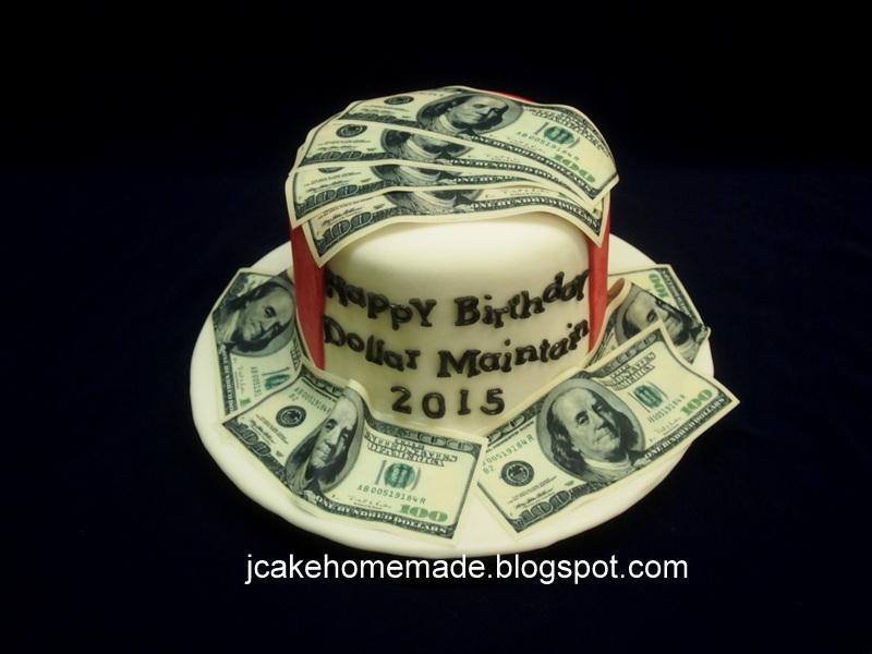 Jcakehomemade Money Cake