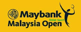 Jadwal Pertandingan Maybank Malaysia Open Super Series 2014