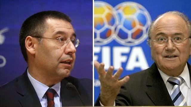 رسميا: الفيفا يرفع عقوبة برشلونة مؤقتا